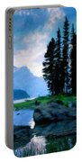 Nature Oil Paintings Landscapes Portable Battery Charger