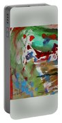 Untitled Abstract Portable Battery Charger