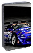 7763 Nissan Tuning Race Cars Blue Cars Selective Coloring Portable Battery Charger