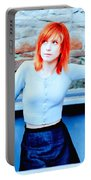 79361 Hayley Williams Paramore Women Singer Redhead Portable Battery Charger