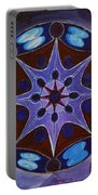7th Mandala - Crown Chakra Portable Battery Charger