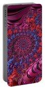Fractal, Pattern, Kaleidoscope, Art Portable Battery Charger