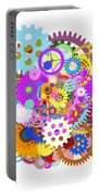 Gears Wheels Design  Portable Battery Charger by Setsiri Silapasuwanchai