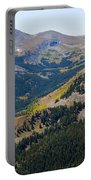 Autumn Tundra Turning To Gold  On Mount Yale Colorado Portable Battery Charger