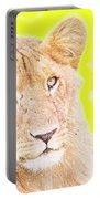 lioness Masai Mara, Kenya Portable Battery Charger