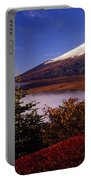 Mount Fuji In Autumn Portable Battery Charger
