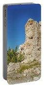 Natural Rock Formation At Mono Lake, Eastern Sierra, California, Portable Battery Charger