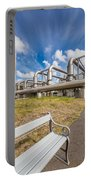 Pipes At Nesjavellir Geothermal Power Portable Battery Charger