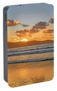 Sunrise Seascape At The Beach Portable Battery Charger