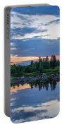 Sunset Down East Maine Portable Battery Charger