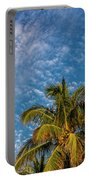 8156- Palm Tree Portable Battery Charger