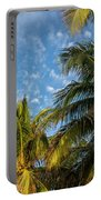 8167- Palm Tree Portable Battery Charger
