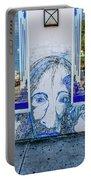 8261- Little Havana Mural Portable Battery Charger