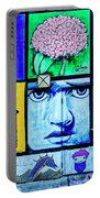 8292- Little Havana Mural Portable Battery Charger