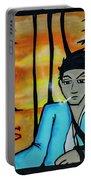8303-2-  Little Havana Mural Portable Battery Charger