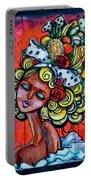 8334-1- Little Havana Mural Portable Battery Charger