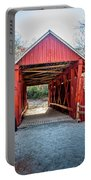 8351- Campbell's Covered Bridge Portable Battery Charger