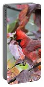 8627-001 - Northern Cardinal Portable Battery Charger