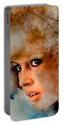 Brigitte Bardot Portable Battery Charger