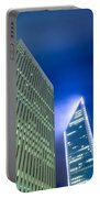 Charlotte North Carolina Skyline Portable Battery Charger