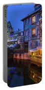 Colmar,petite Venice, Alsace, France, Portable Battery Charger