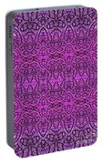 Purple Shade Portable Battery Charger