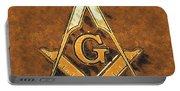 Freemason, Mason, Masonic Symbolism Portable Battery Charger