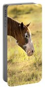 Horse In The Countryside  Portable Battery Charger