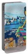 Marseille Street Art, Le Panier And Le Cours Julien Portable Battery Charger