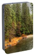 Merced River Yosemite Valley Portable Battery Charger