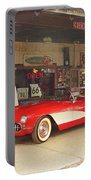 Route 66 Corvette Portable Battery Charger
