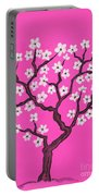 Spring Tree In Blossom, Painting Portable Battery Charger