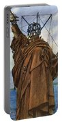 Statue Of Liberty 1886 Portable Battery Charger