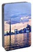 Toronto Skyline Portable Battery Charger