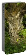 Oak Tree Trunk Portable Battery Charger