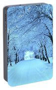 Winter Portable Battery Charger