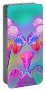 917 - Icecream Summerfruit A  Portable Battery Charger