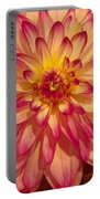 #928 D855 Dahlia Close Up Portable Battery Charger