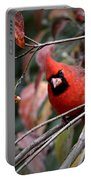 9971-002 - Northern Cardinal Portable Battery Charger