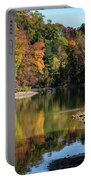 A Autumn Walk Portable Battery Charger