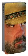 A Bearded Cowboy Portable Battery Charger