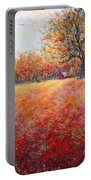 A Beautiful Autumn Day Portable Battery Charger