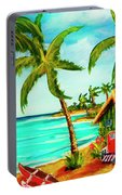 A Beautiful Day  Oahu #357 Portable Battery Charger
