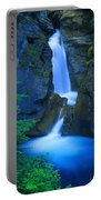 A Beautiful Waterfall, Johnston Canyon Portable Battery Charger
