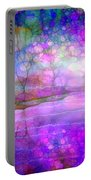 A Bewitching Purple Morning Portable Battery Charger