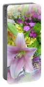 A Bouquet For My Love 46 Portable Battery Charger