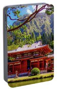 Buddhist Temple - Oahu, Hawaii - Portable Battery Charger