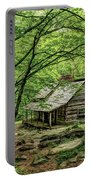 A Cabin In The Woods Portable Battery Charger