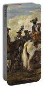 A Cavalry Skirmish Portable Battery Charger