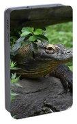 A Close Up Look At A Komodo Dragon Lizard Portable Battery Charger